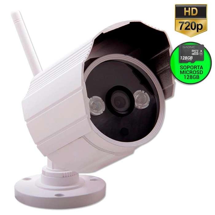 Camara de Seguridad Gadnic HD P2P IP Wifi