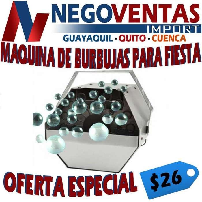 MAQUINA DE BURBUJAS PARA FIESTA