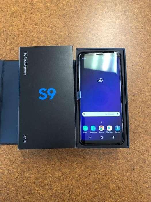 SAMSUNG S9 DE 64GB LLEVALO CON 530 SOL PORTANDO A CLARO CON EL PLAN DE 85 MAS CUOTAS DE 133 SOL PORTA A CLARO POSTPAGO