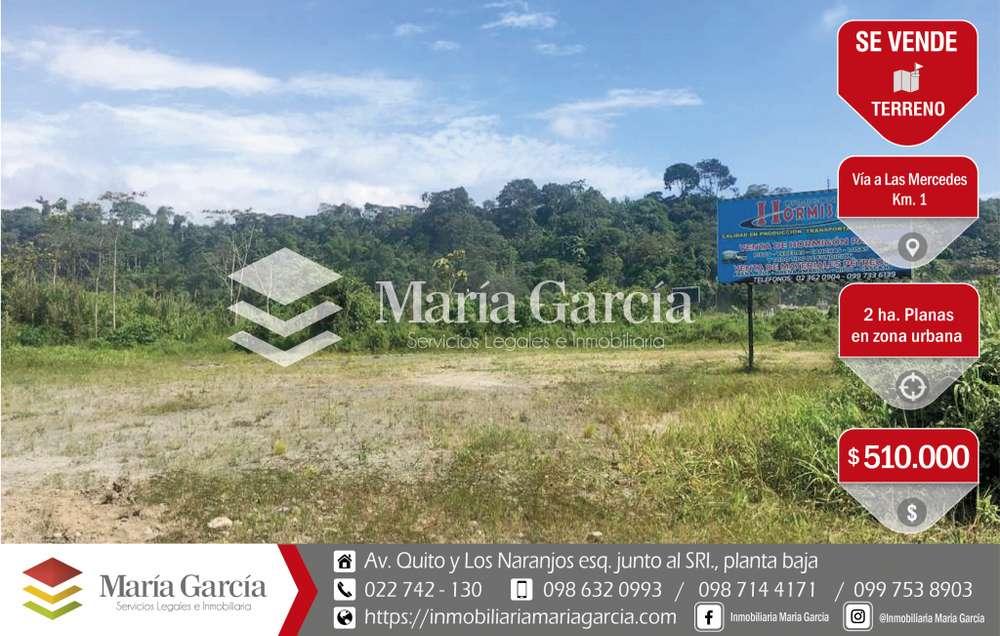 2 hectáreas de venta en área urbana de Santo Domingo