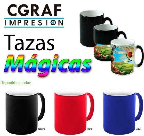 TAZAS MAGICAS SUBLIMABLES