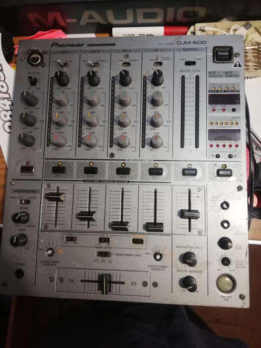 REMATO MIXER PARA DJ PIONNER MODELO 600 djm
