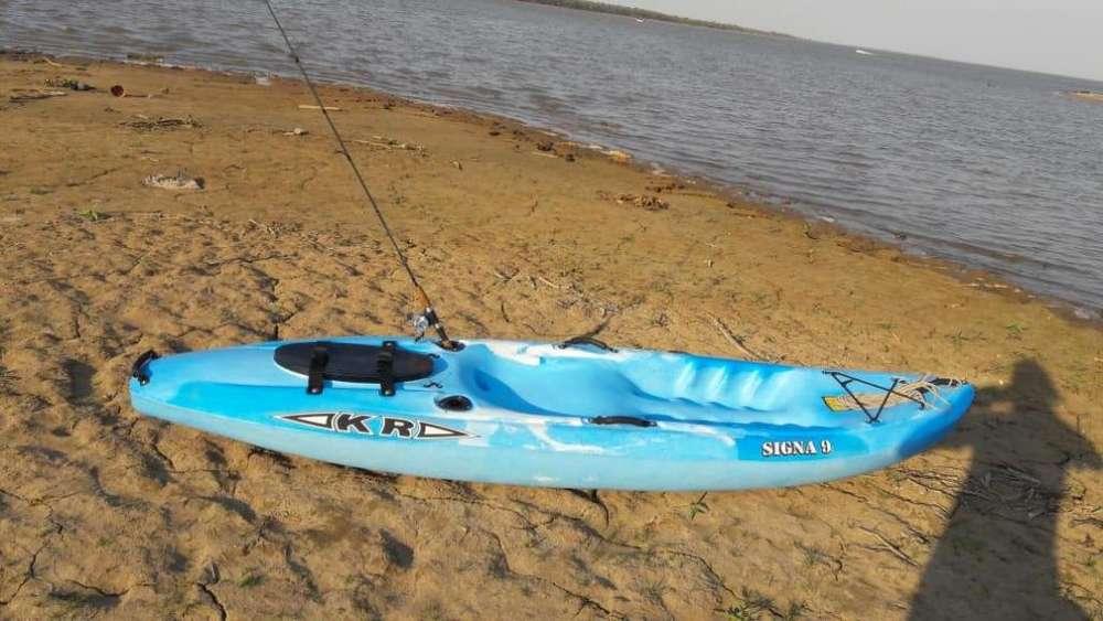 Vendo Kayak signa 9 nuevo con remo