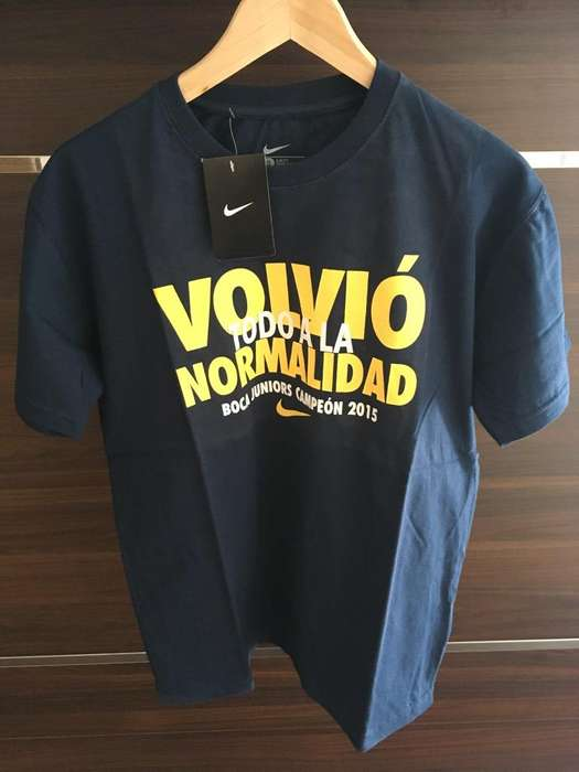 Remera Boca Juniors Campeon
