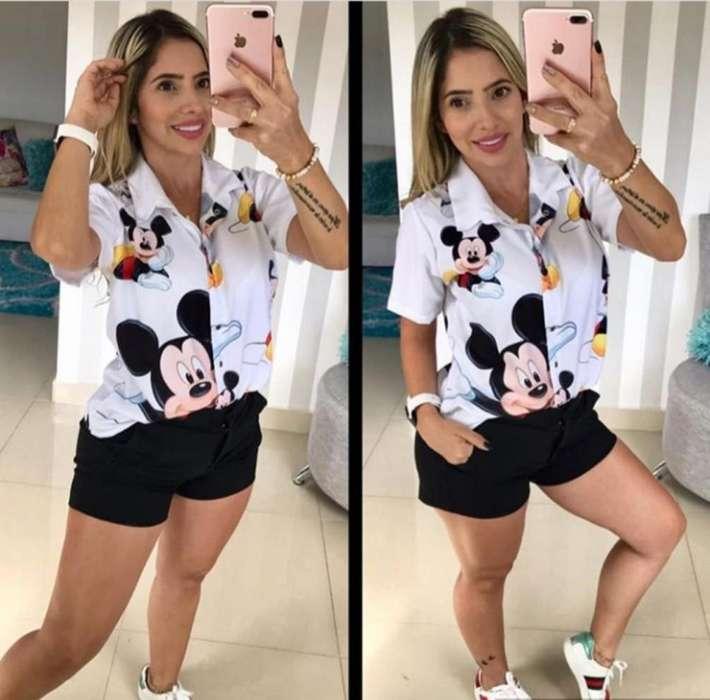 Hermosa Camisa de Mickey