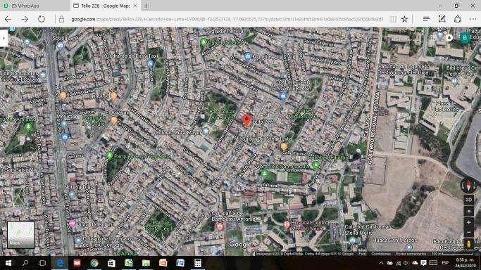 Se vende Terreno Residencial en San Jose 184m2.