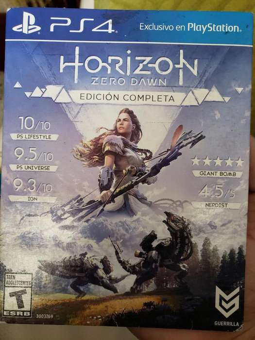 Horizon Zero Dawn Cambio/vendo