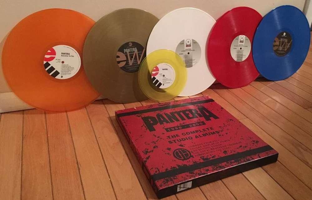 para Coleccionistas, Box Set Pantera