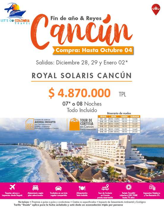 Cancún Fin de Año