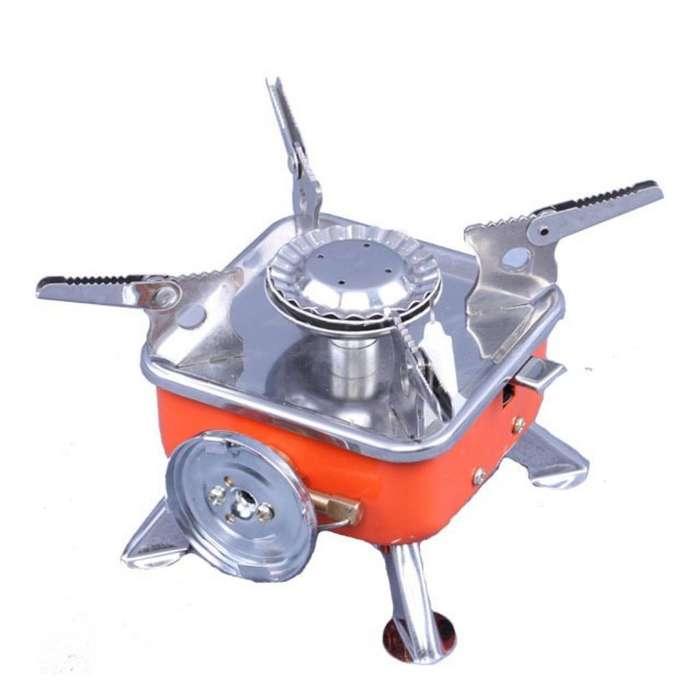 Mini Anafe a Gas Butano Plegable