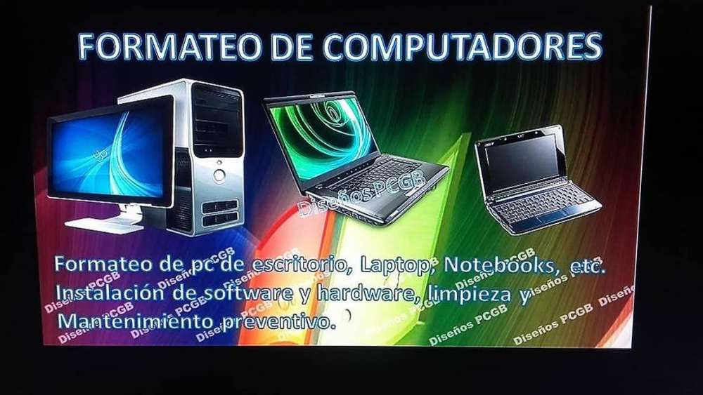 Instalacion de Software PC/Portatiles