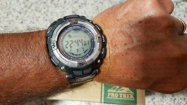 Vendo Reloj Casio Pro Trek