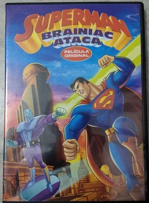 Dvd Superman Vs Brainiac