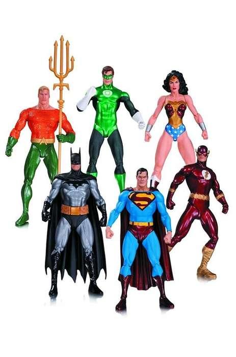 Set X6 Figuras Justice League Alex Ross Dc Collectibles