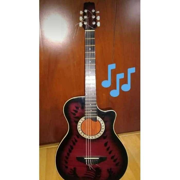 Vendo Guitarra Acústica Vino Tinto