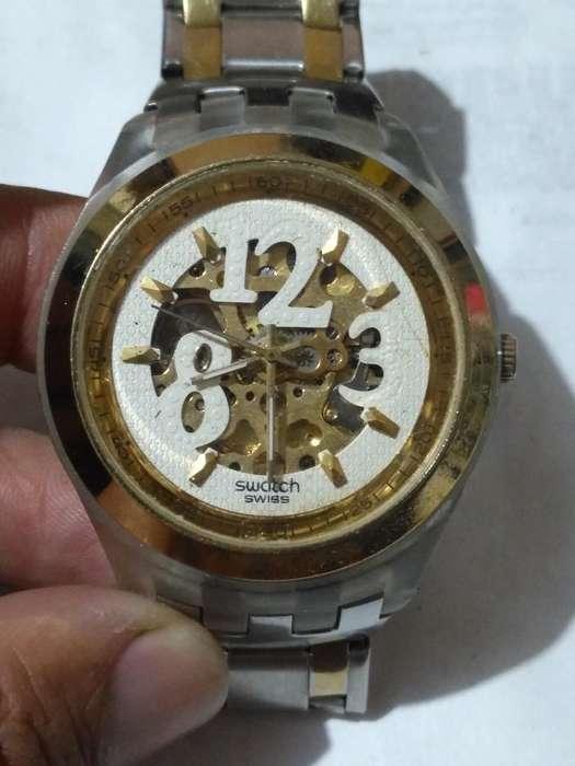 Reloj Swatch Automático Corazón Abierto