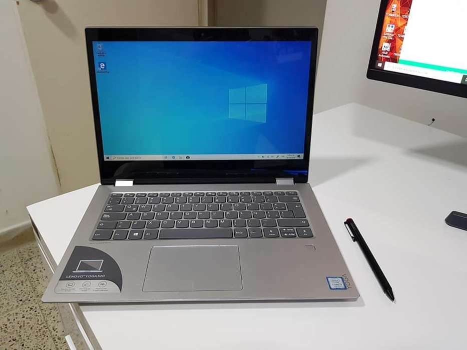 LENOVO YOGA 520 i3 7ma To 2.40GHZ, 1TB DISCO, 4GB RAM DDR4, PANTALLA 14 36O grados tactil, LAPICERO