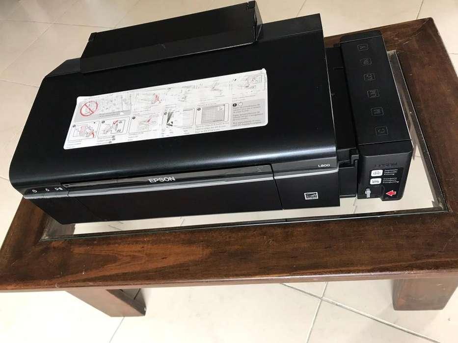 Impresora Epson L-800 con Sistema Tintas Sublimación