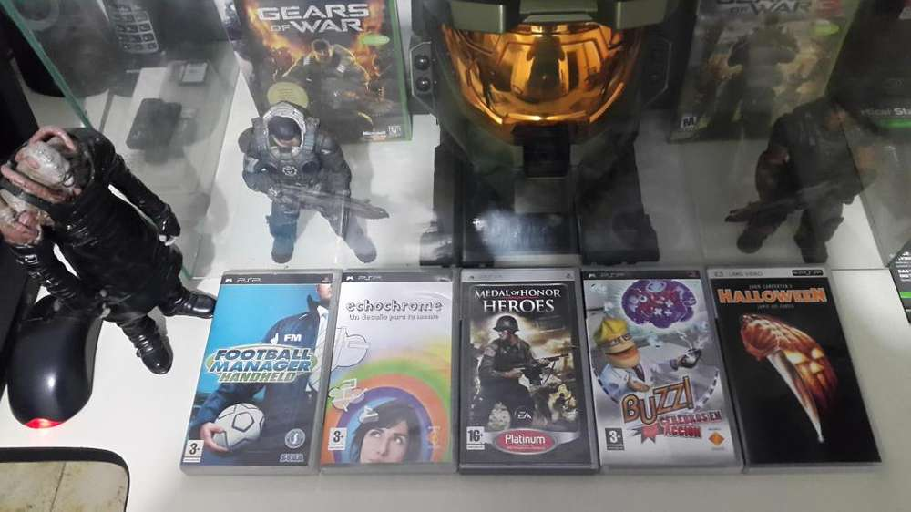 5 Juegos de PSP Originales Al Precio de 1 Cada uno 20 o Todos por 70.000