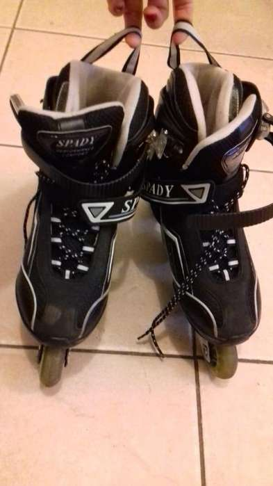 Rollers Profesionales Patines Abec 7 Aluminio, SPADY, N 37-38