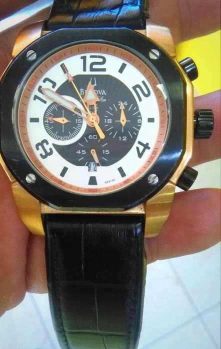 Reloj Bulova Marine Star 98B138, Original, Usado Muy Poco, Estado Impecable 10/10