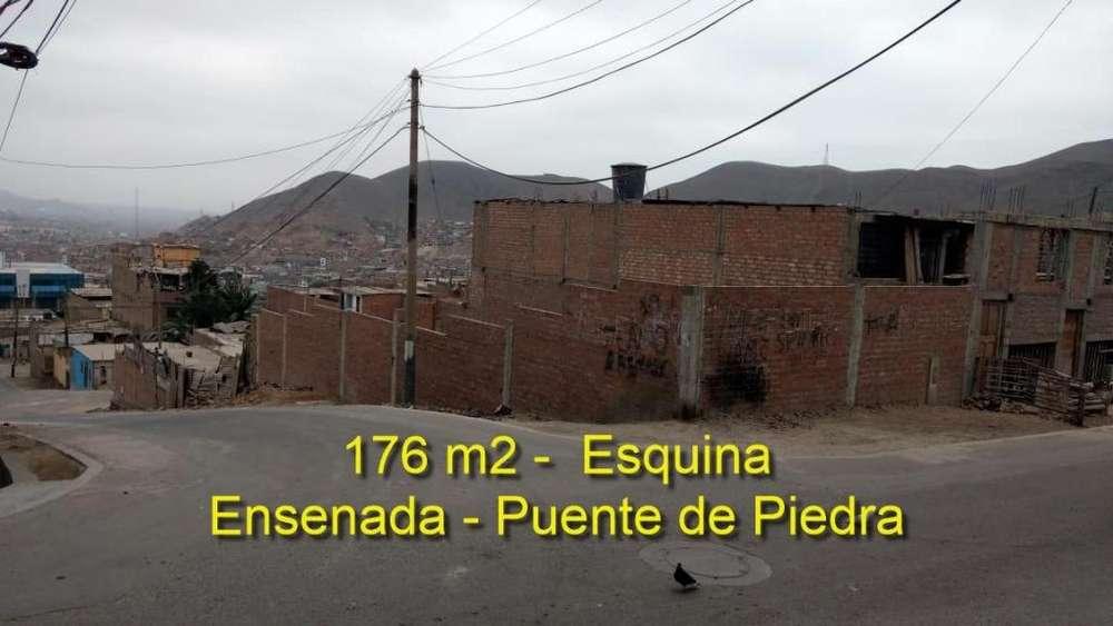 Ocasión Vendo Terreno en Esquina de 176 m2 en Puente de Piedra.