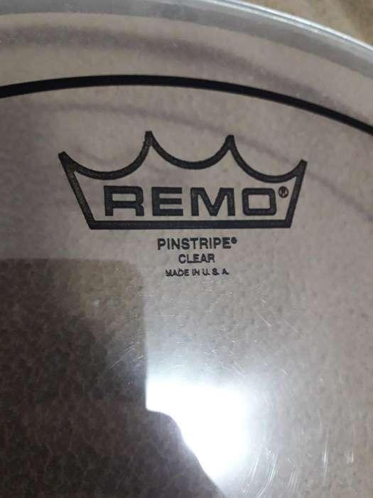 Parche Remo Pinstripe Clear Usa