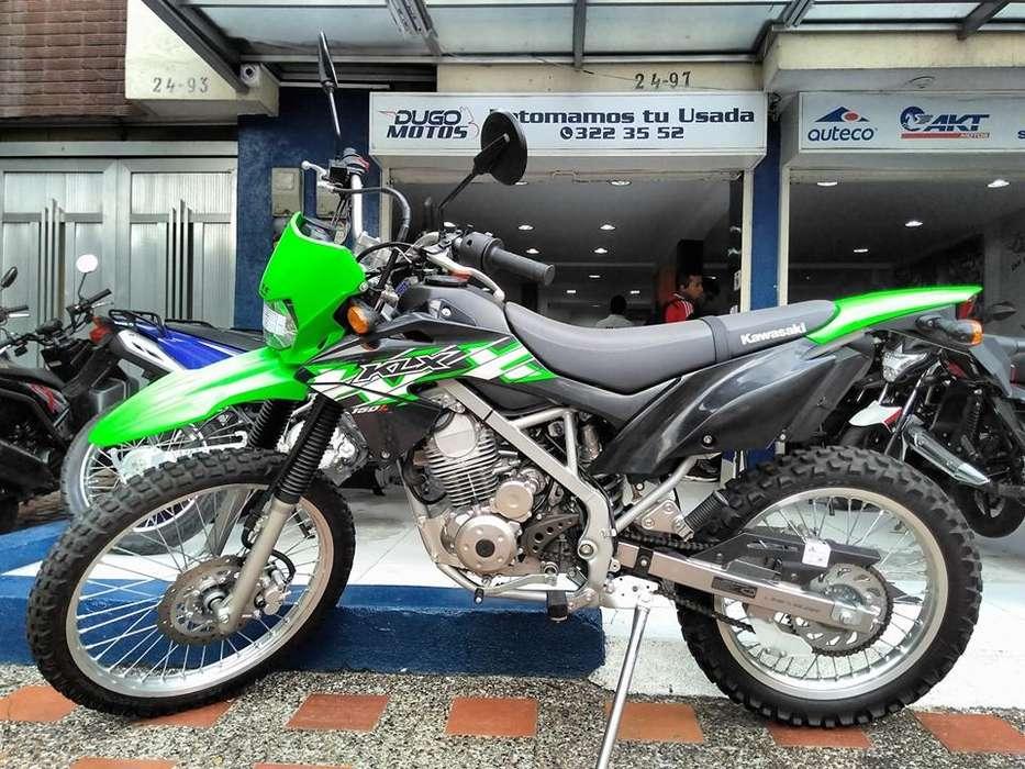 Kawasaki KLX 150 modelo 2019 como nueva Recibimos tu usada en parte de pago!