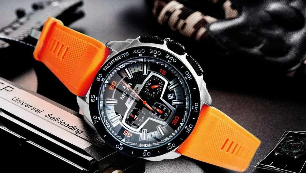 Reloj Cronografo MN2056P Nuevo Vendo Cambio