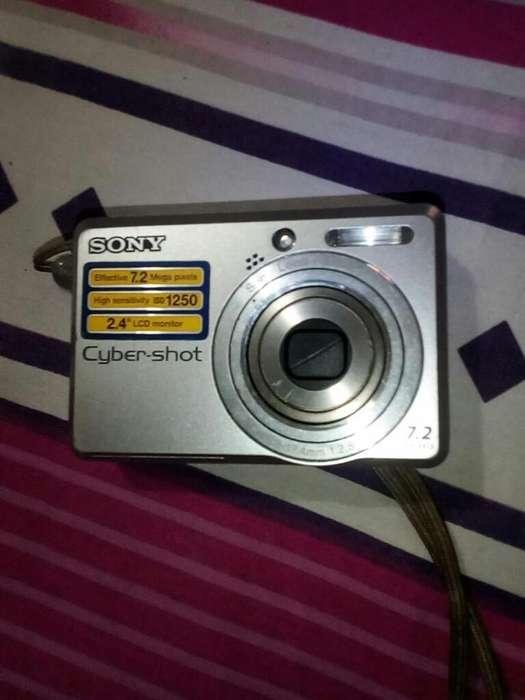 Camara Sony Cyber-shot 7.2mp