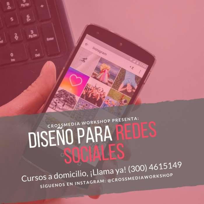 Clases de Redes Sociales a domicilio en Bogotá 2019, Curso de Diseño para Redes Sociales A domicilio en Bogota