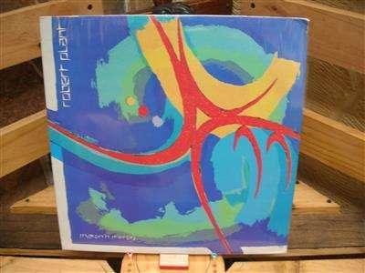 Long Play Lp Disco Acetato Pasta Vinilo Vinyl Robet Plant Shaken and Stirred