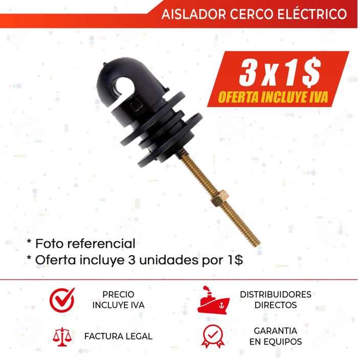 Aisladores Para Cercos Electricos. Tensores para Cercas Electricas. Alambre Galvanizado. Quito. Guayaquil