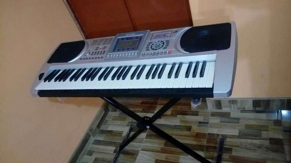 Piano Electrico con Pista Usb