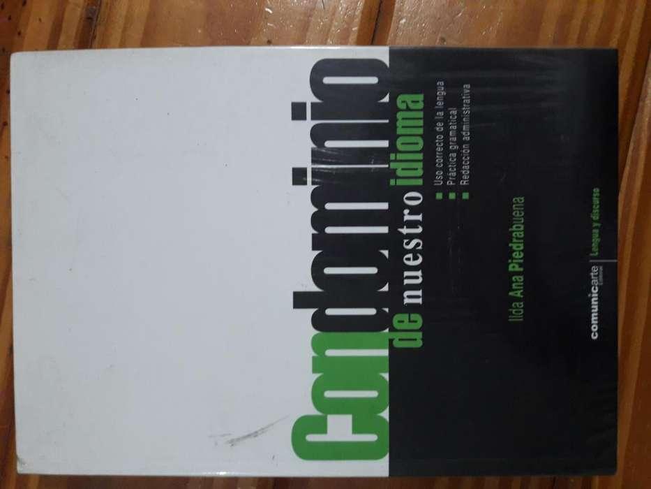 Libro Condominio de nuestro idioma, de Ilda Ana Piedrabuena. Editorial Comunicarte