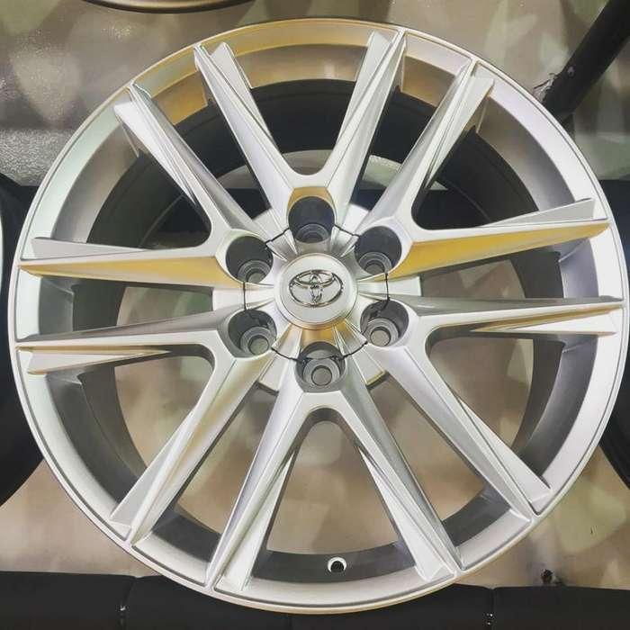 Rines 18 Toyota 6 X 139 Silver