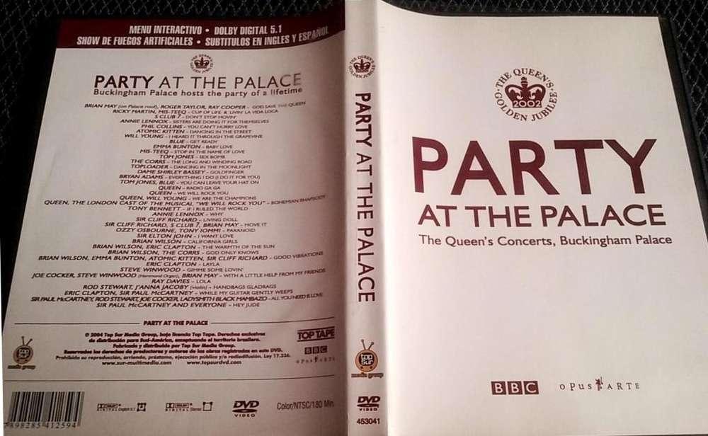 PARTY AT THE PALACE Concierto en DVD de 3 horas por el jubileo de la Reina Isabel en el Buckingham Palace