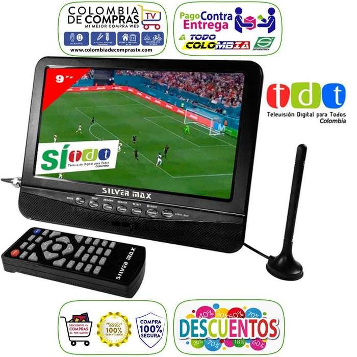 Televisor Con Tdt Portátil 7 o 9 Pulgadas, Recargable, Nuevos, Originales, Garantizados.