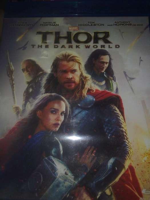 Thor 2 un mundo oscuro Blue Ray