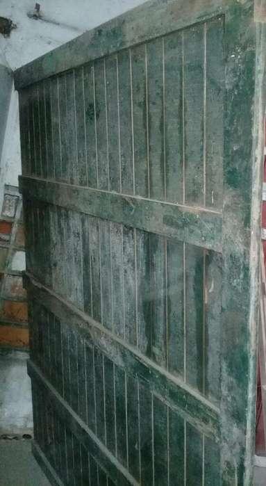 Vendo Porton Madera Lapacho Usado