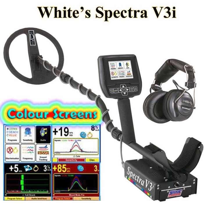 Detector de Metales Spectra V3i