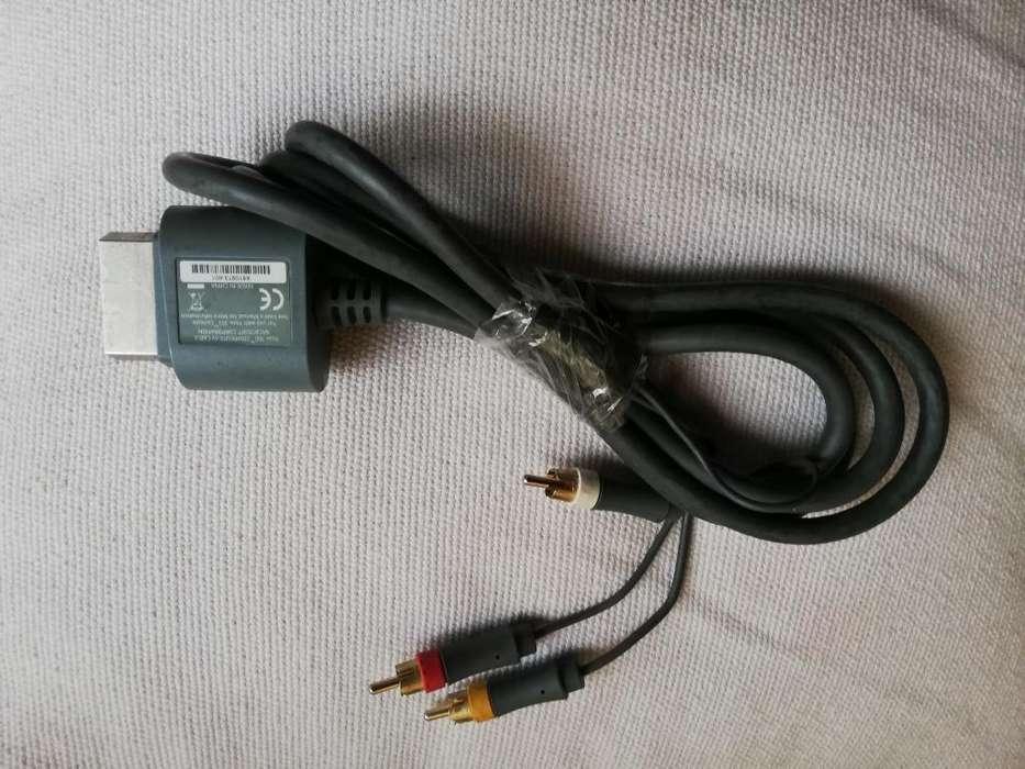 Cable Av para Xbox 360 Arcade