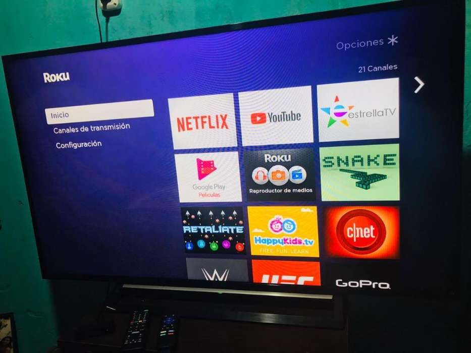 Vendo Tv Sony Led con Roku Incluido