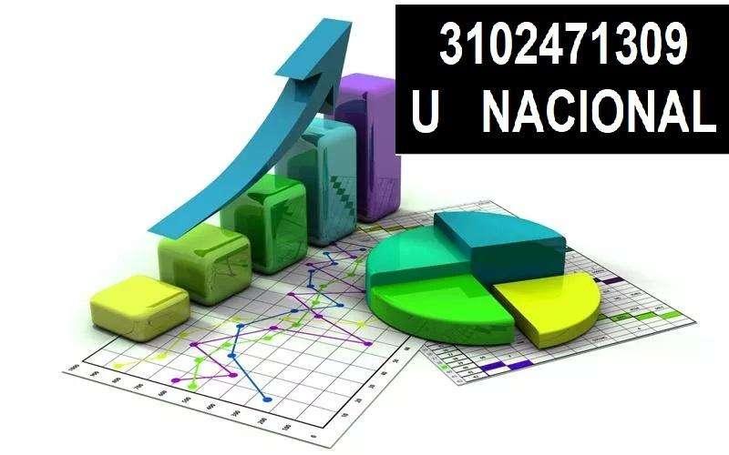 CLASES, ASESORÍAS DE ESTADÍSTICA R, R STUDIO, SPSS, STATA, EXCEL 3102471309, BOGOTA