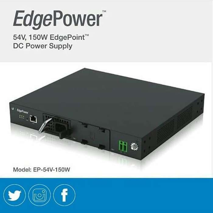 Fuente De Poder Ubiquiti Edge Power,54v,150w Para Edgepoint