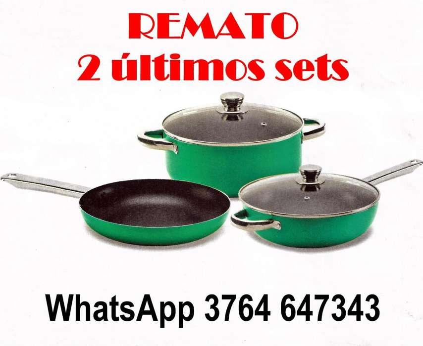BATERÍA COCINA REMATO 3764647343
