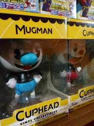 Dos Figuras Cuphead Originales Funko