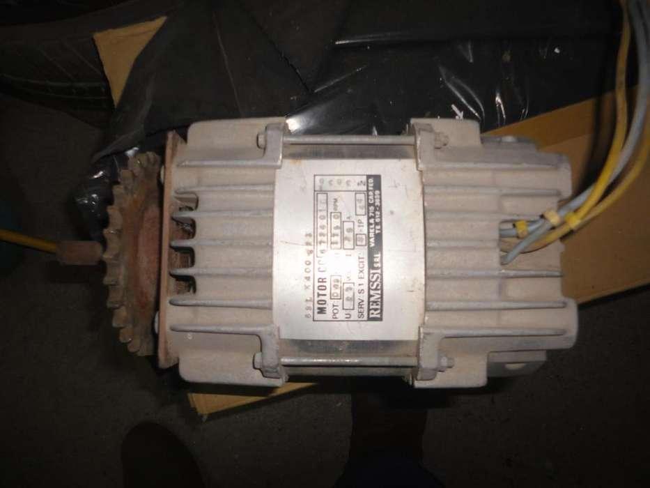 Motor electrico 27 Vts.