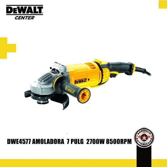 DWE4577 AMOLADORA 7'' 8500 RPM 2700 WATT