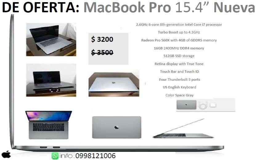 MacBook Pro Nueva
